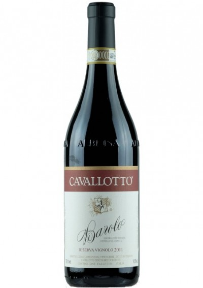 Cavallotto Barolo Vignolo Riserva 2011